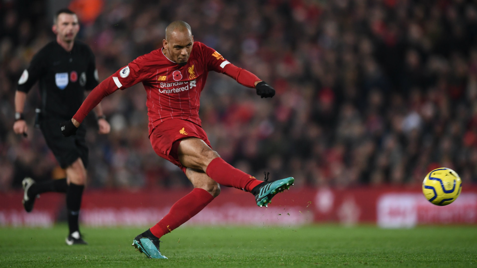 Fabinho happy with 'Dyson' tag as he eyes further improvement at Liverpool