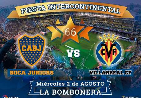 Boca-Villarreal, en La Bombonera