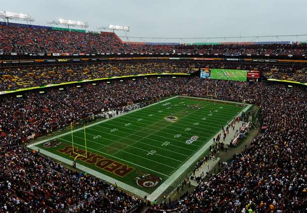 Brasil Global Tour Venues: FedExField