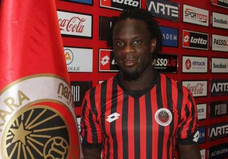 Ghana striker signs for Genclerbirligi