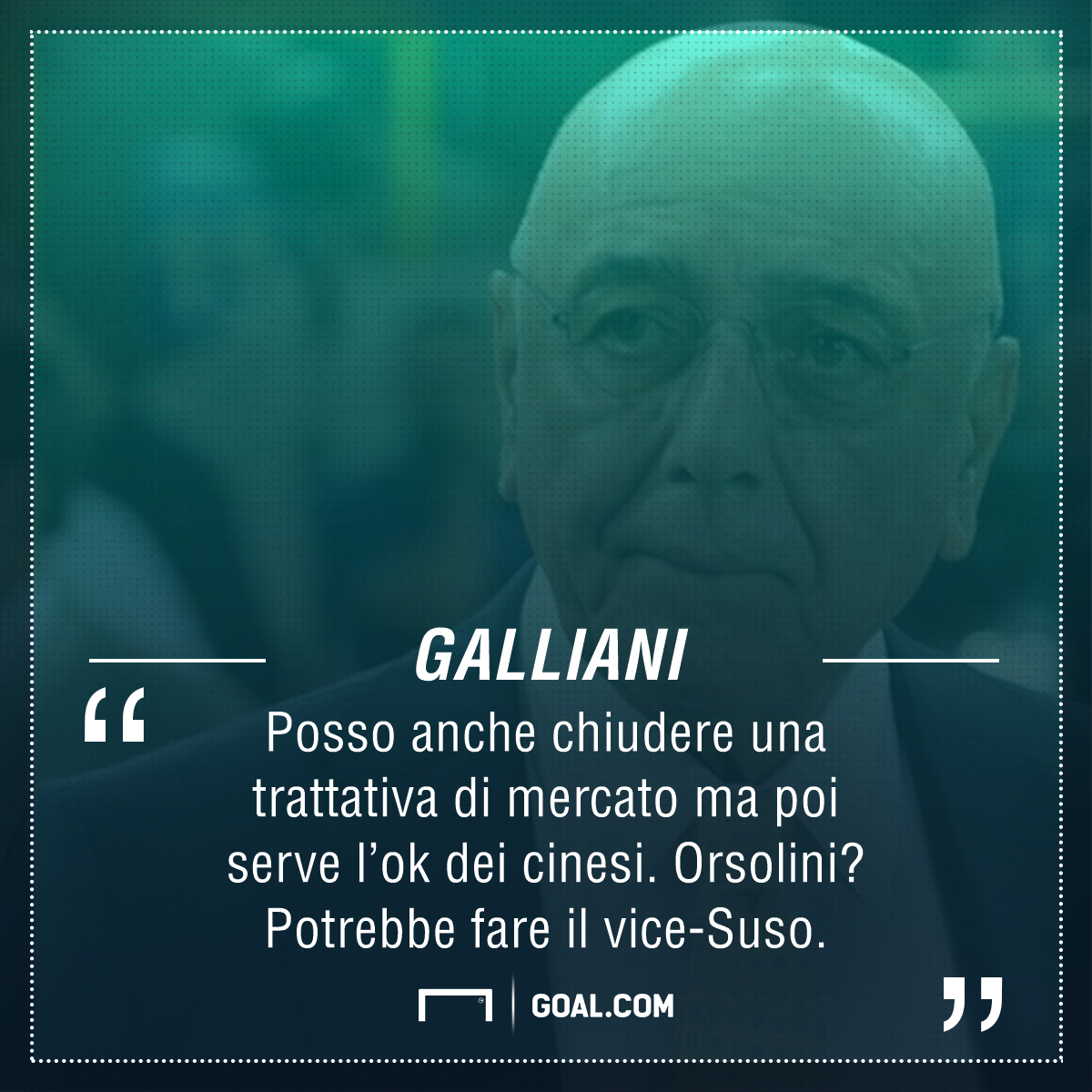 Milan, Galliani: