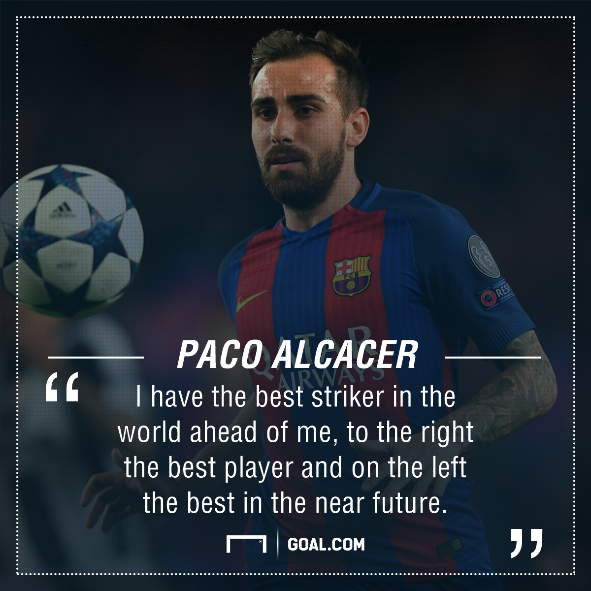 Paco Alcacer Barcelona