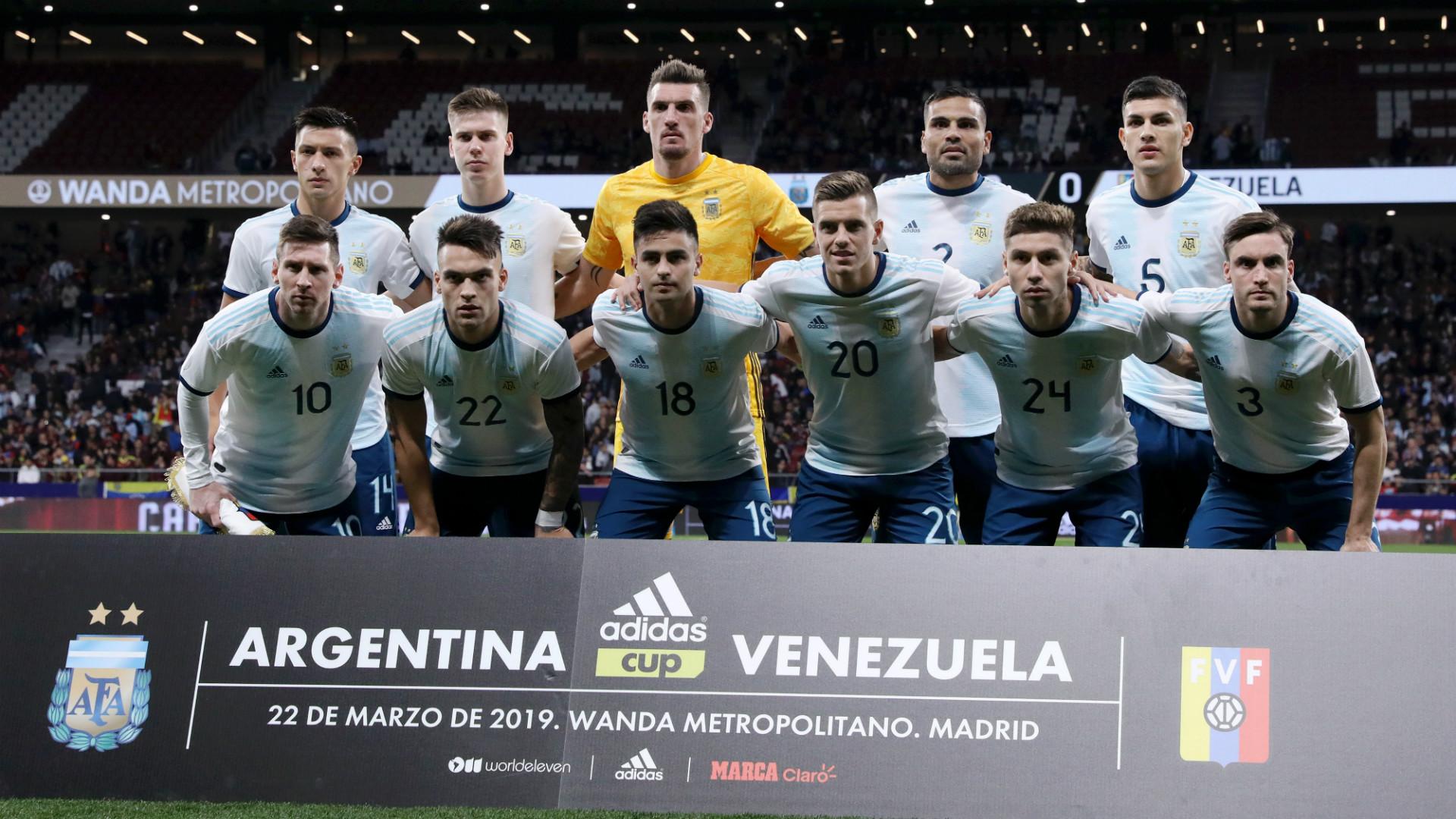 阿根廷友谊赛落败 全队只为与梅西磨合