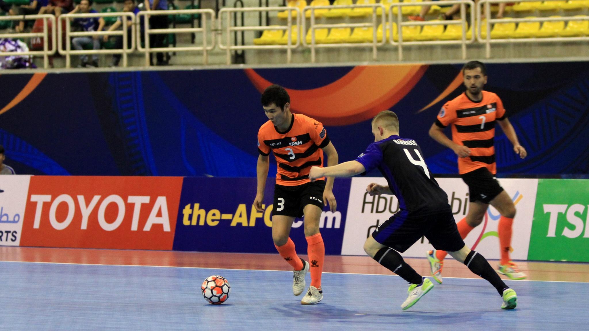 2017 AFC Futsal Club Championship   Vic Vipers vs Erem