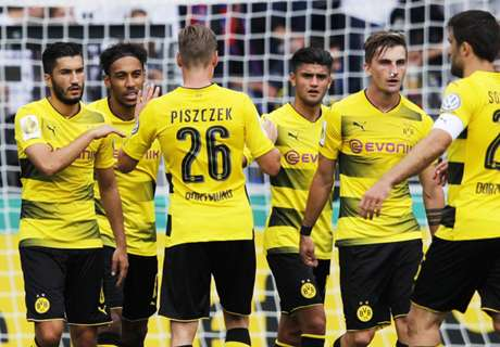 Dortmund & Frankfurt Lolos Dengan Mudah
