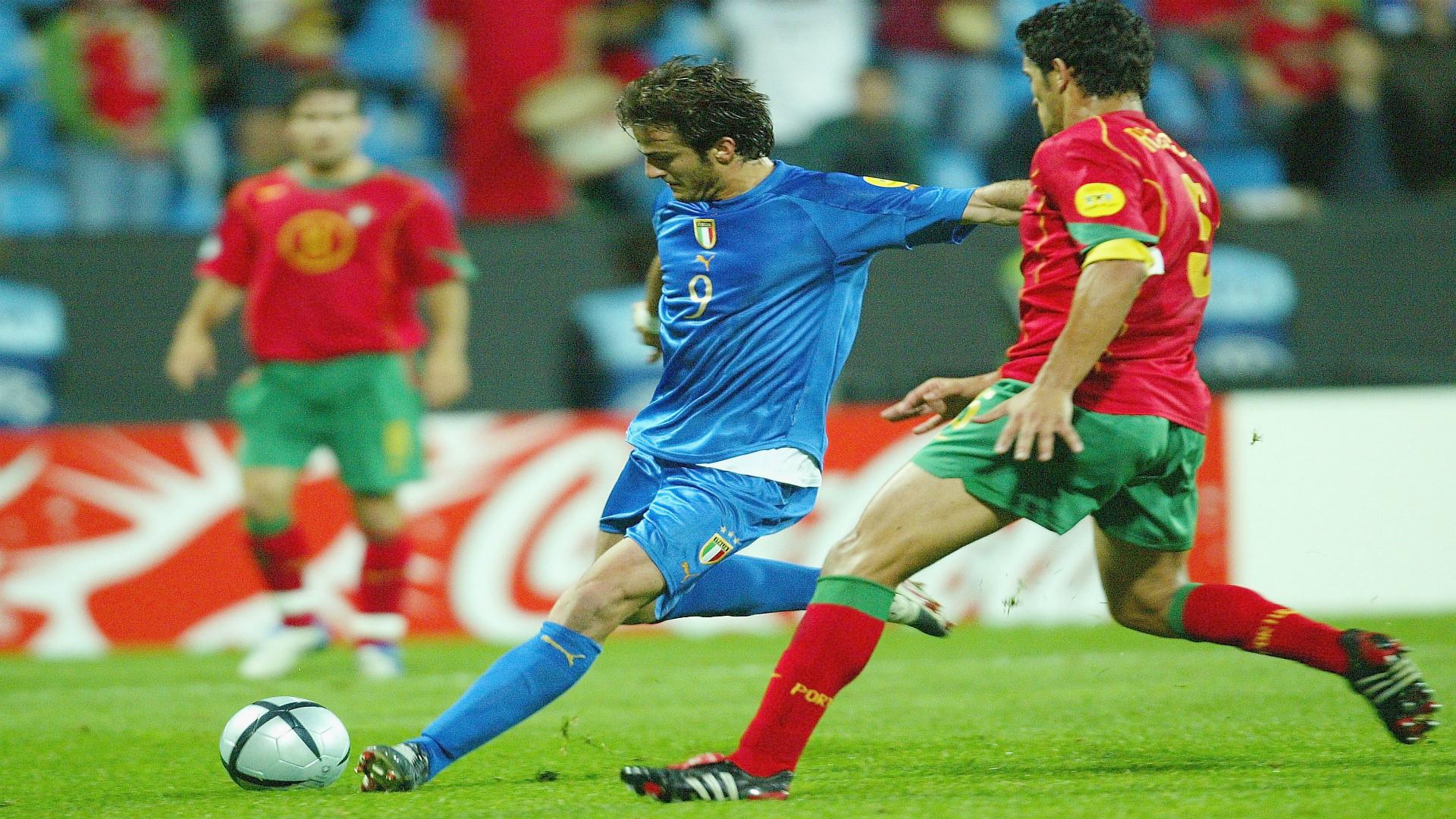 Alberto Gilardino Italy Under-21 European Championships