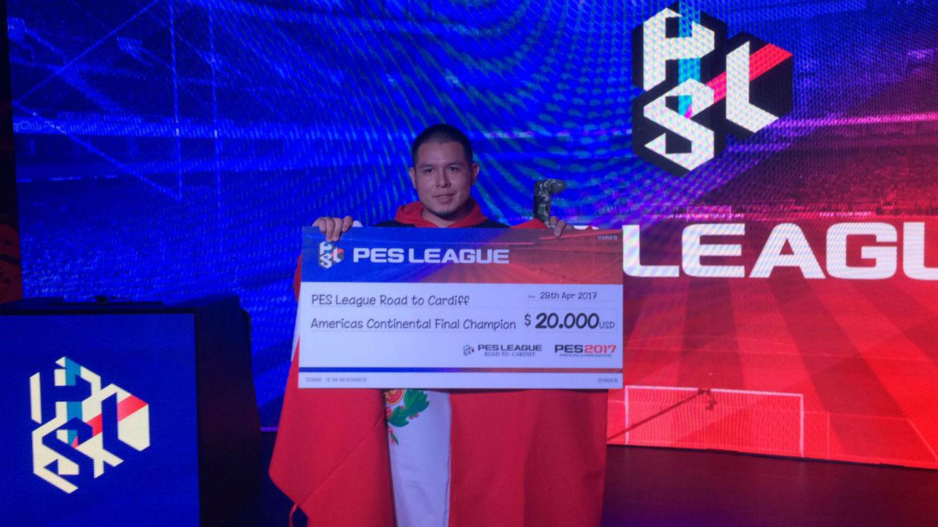 Perú Campeon del PES League America
