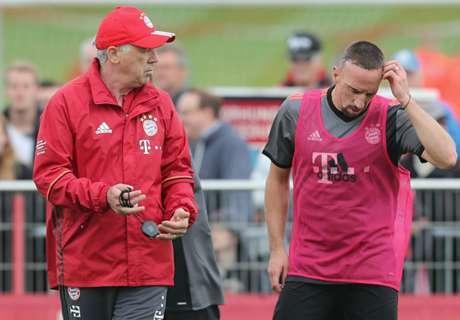 Ancelotti: Ribery not playing well