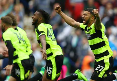 Huddersfield win promotion play-off