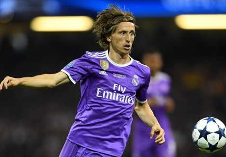 Modric takes No.10 shirt at Real Madrid