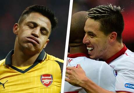 Nasri blames Arsenal woe on players
