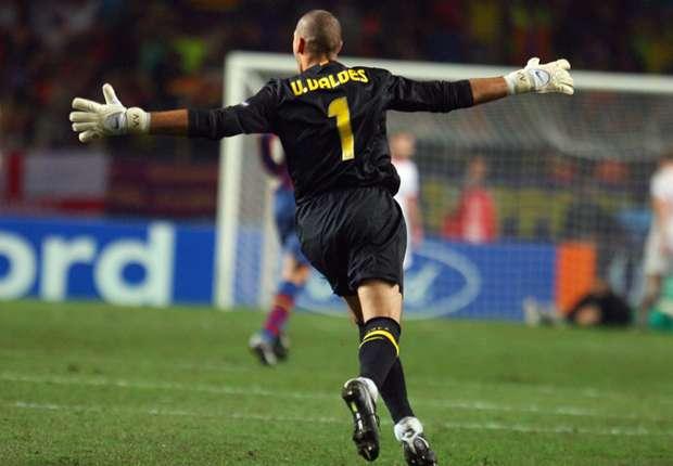 Victor Valdes upisao je 387 nastupa u dresu Barcelone