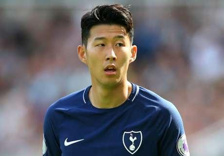 Tottenham star Son racially abused