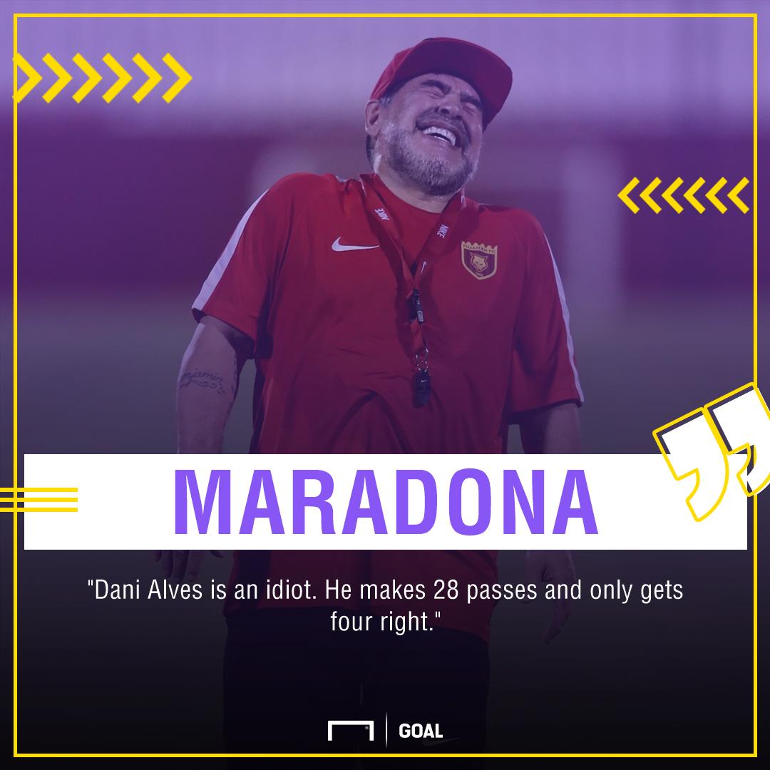 Diego Maradona Dani Alves PS