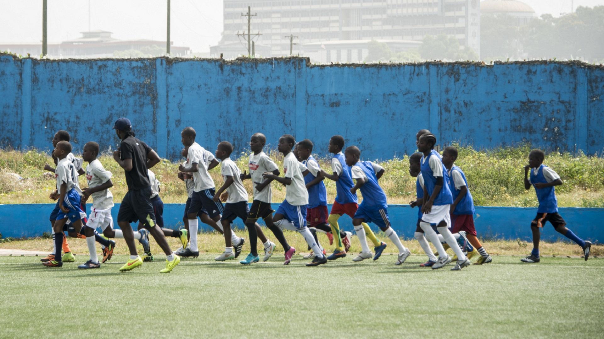 Monrovia Academy training