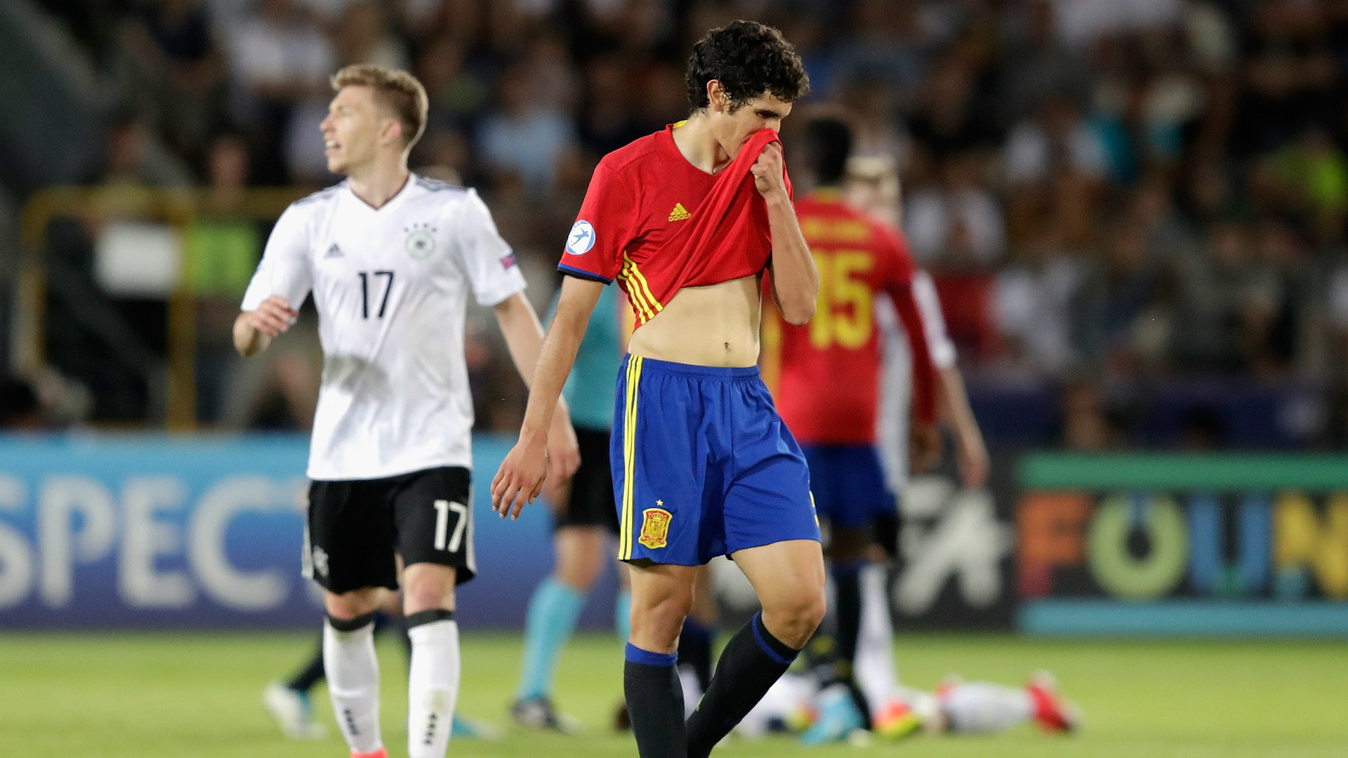 Jesus Vallejo Germany Spain u21
