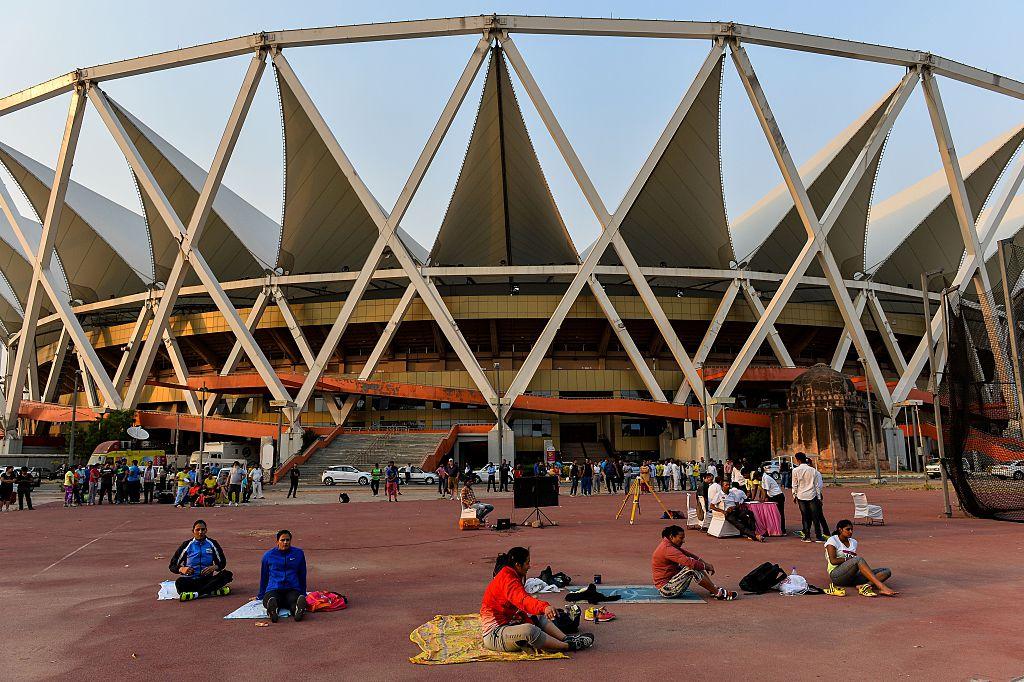 Jawaharlal Nehru stadium New Delhi