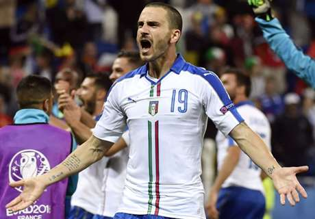 Pep's favourite Bonucci the world's best