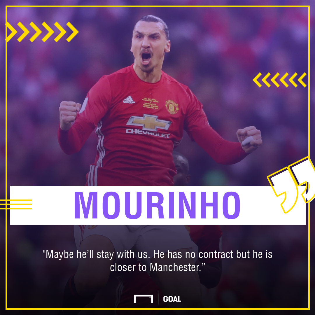 Zlatan Ibrahimovic wants to re-join Manchester United after informing Jose Mourinho