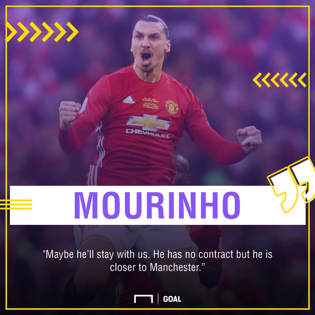 Zlatan Ibrahimovic Jose Mourinho Manchester United return