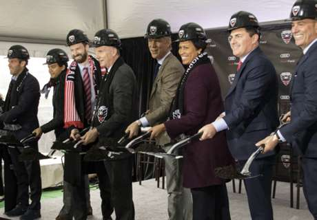 DCU breaks ground on Audi Field