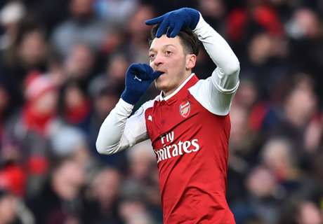 Ozil underlines Arsenal's attacking quality