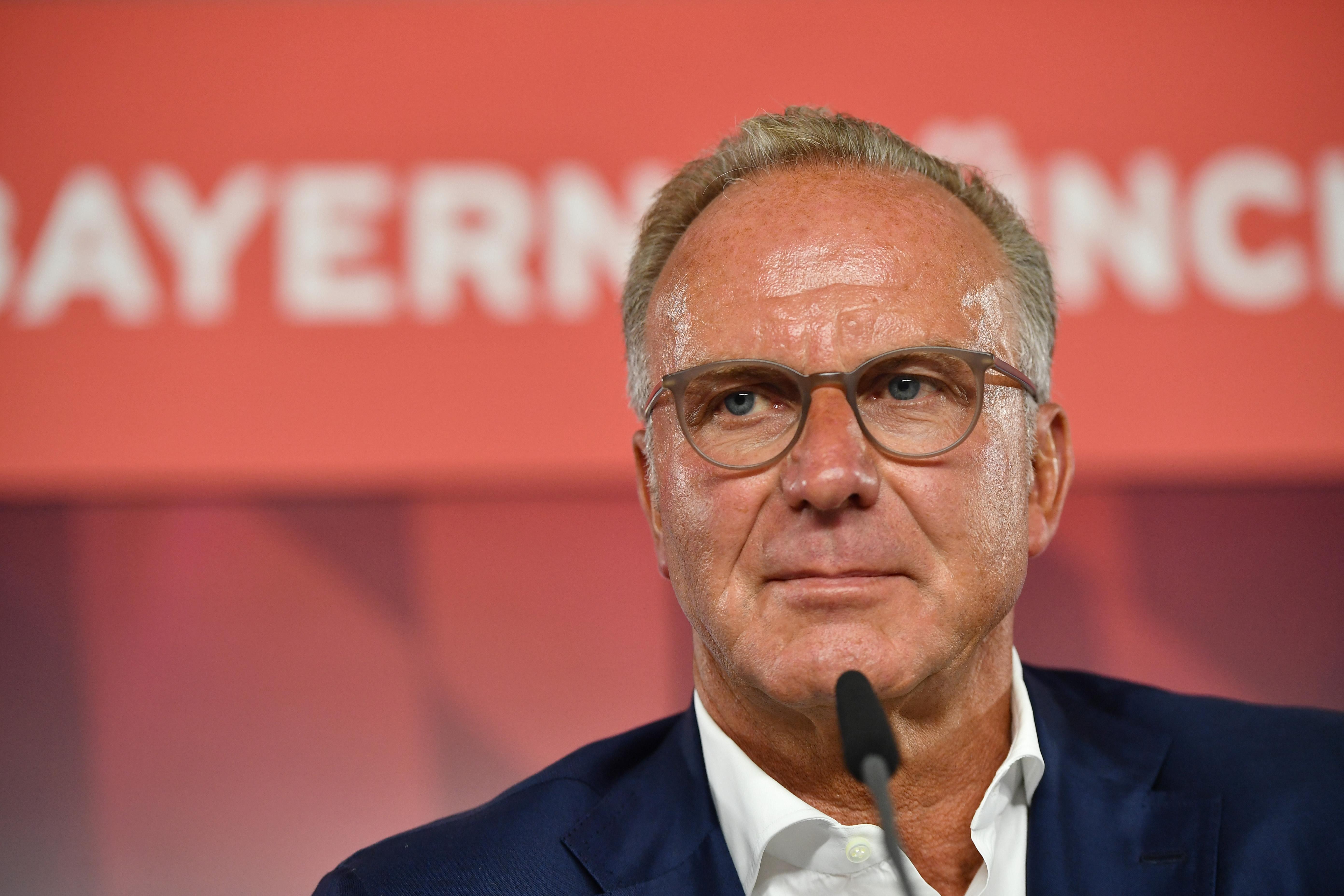 Rummenigge kontert Kritik von Hasenhüttl