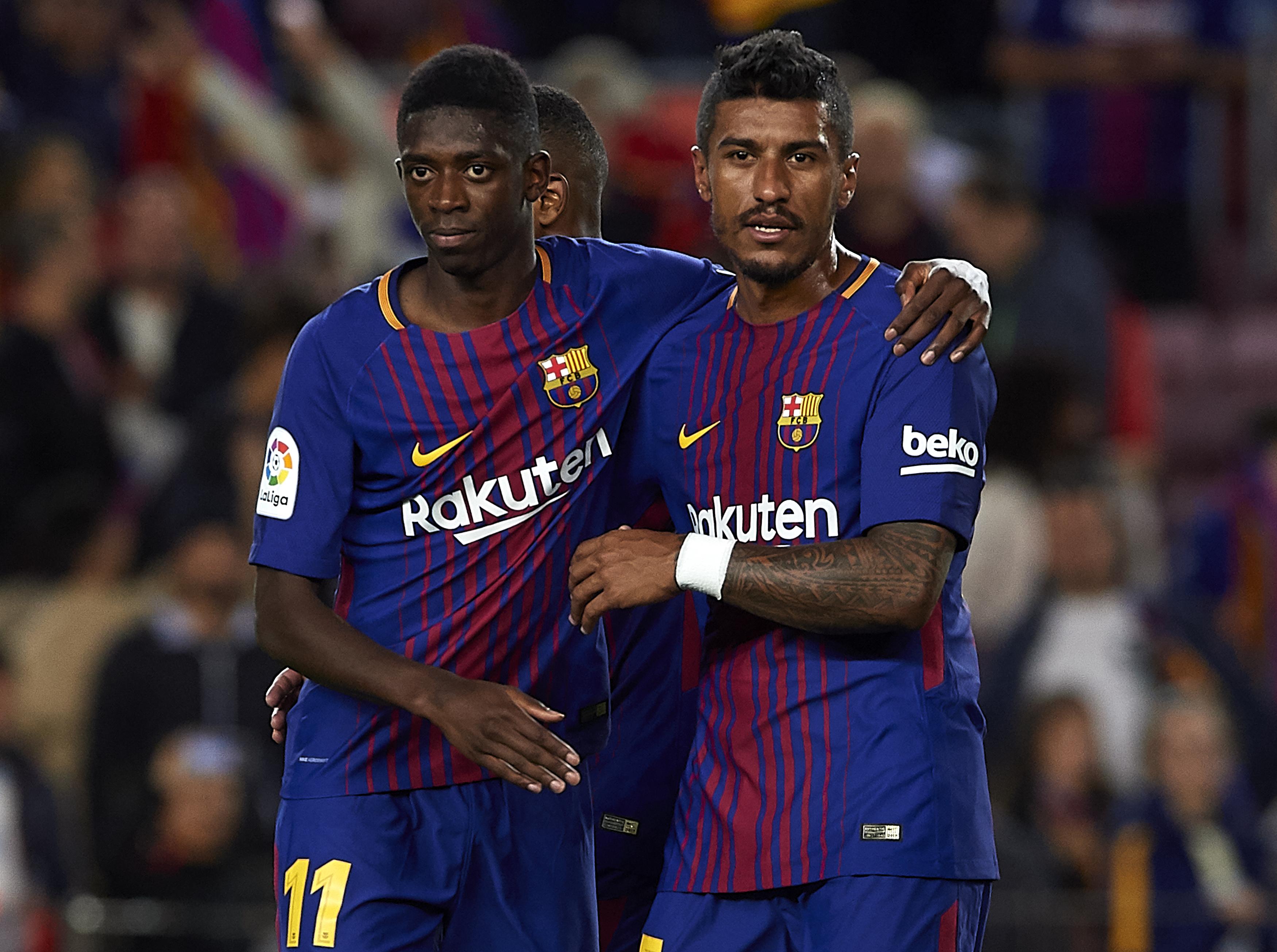 Paulinho Dembele Barcelona