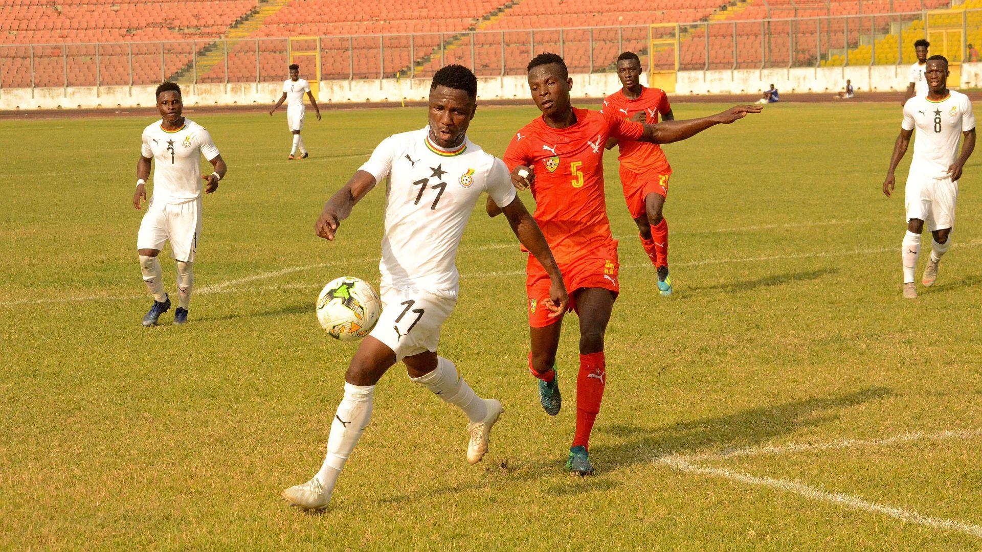 Ghana 1-1 Cameroon: Habib spares Black Meteors' blushes in U23 Afcon opener