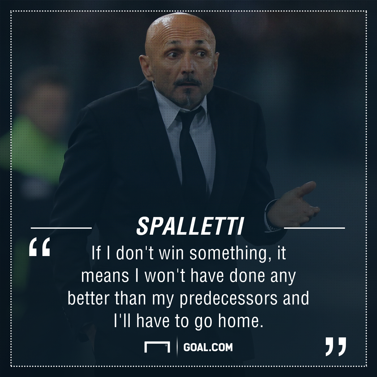 Luciano Spalletti Roma PS