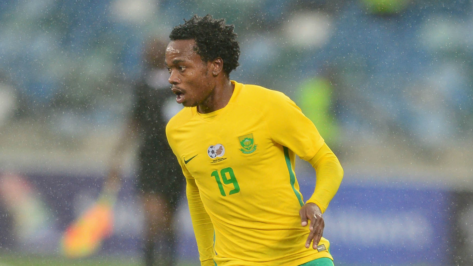 Percy Tau of South Africa