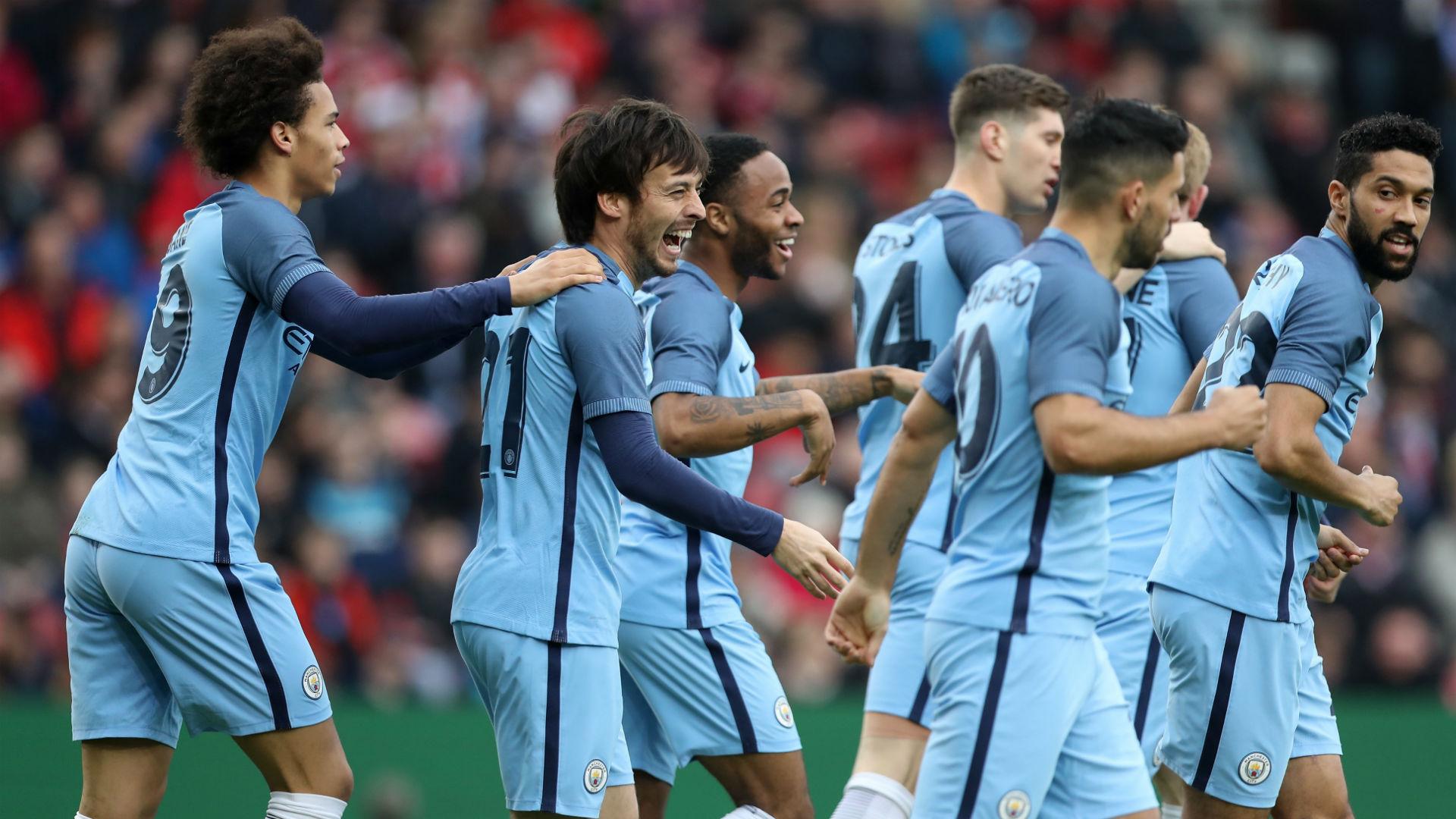 David Silva FA Cup Middlesbrough v Manchester City