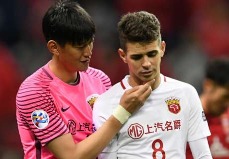 Oscar é suspenso por oito jogos na China