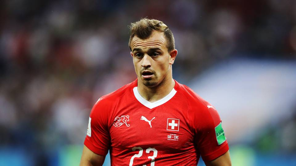 Xherdan Shaqiri Switzerland 27062018