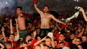 Albanien Fans Tirana EM 19062016