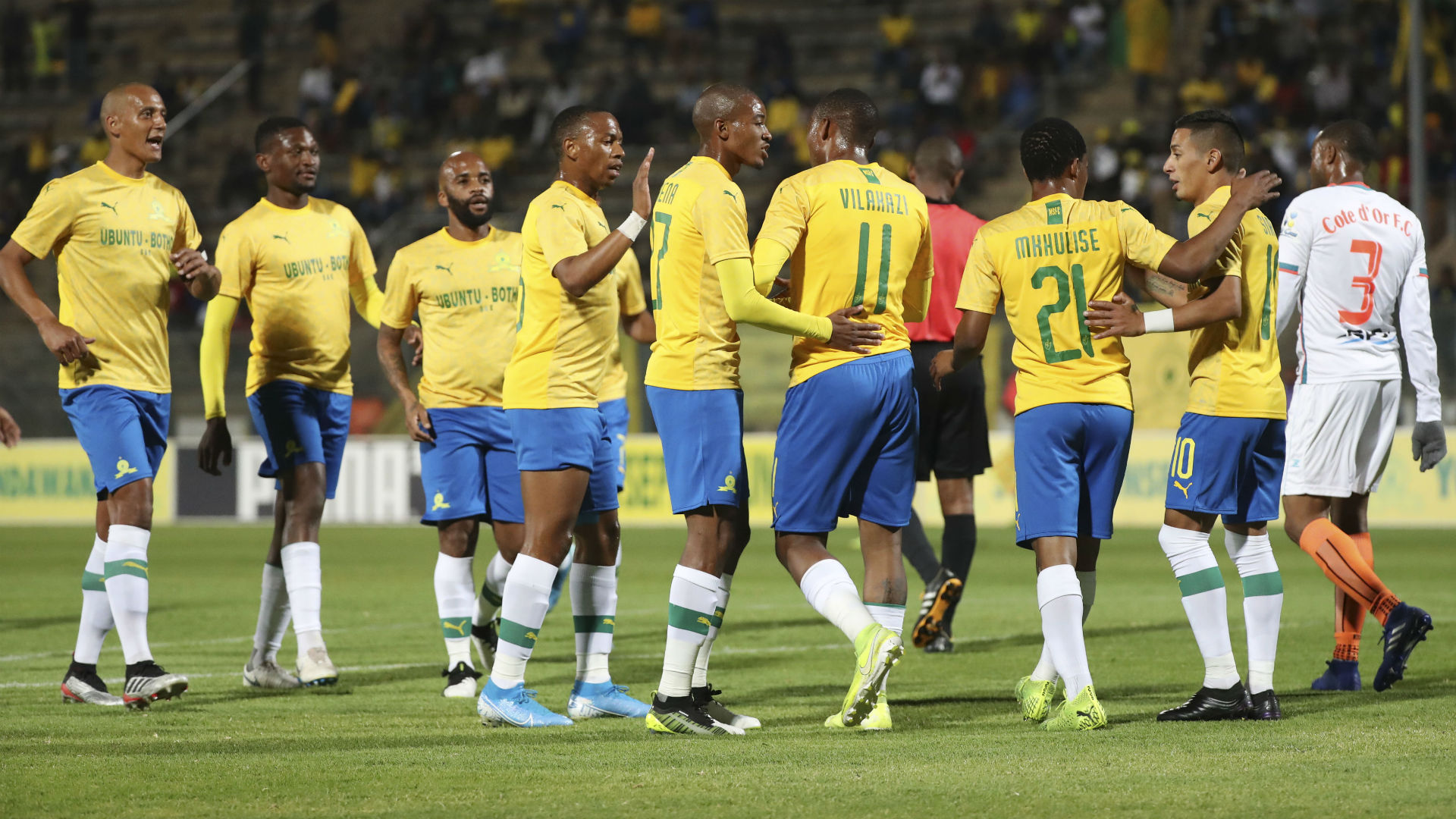 Are Mamelodi Sundowns still on course for a third successive PSL title?