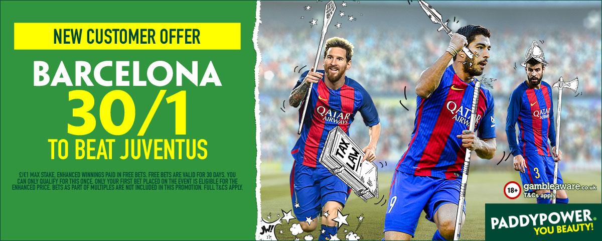 GFX Juventus enhanced odds betting