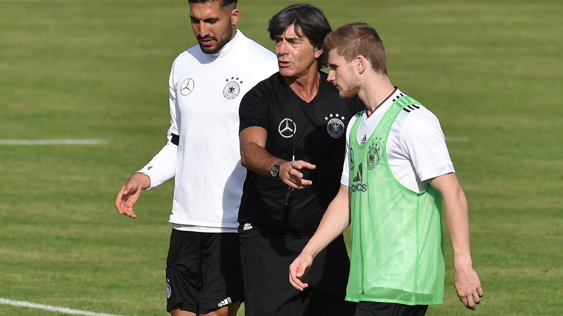 Joachim Löw Timo Werner Germany Deutschland DFB 10062017