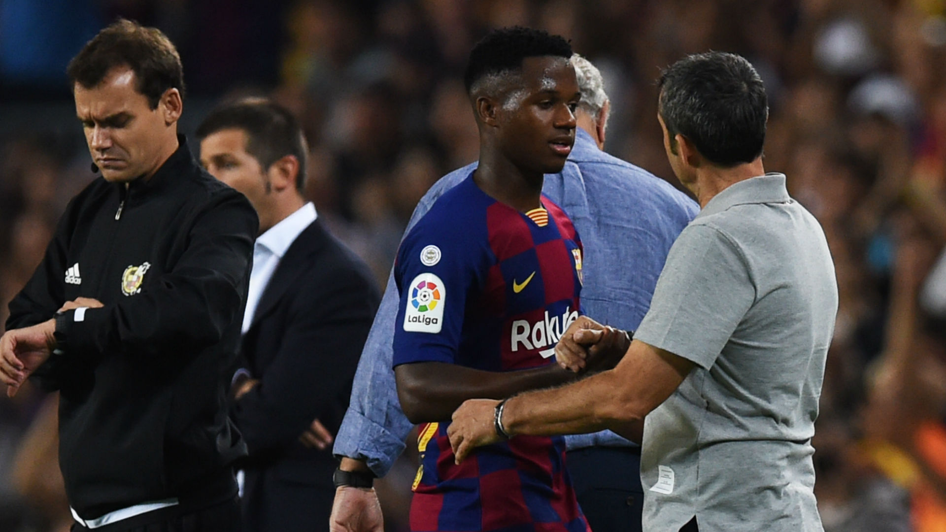 'Fati is not normal!' - Valverde showers praise on Barca wonderkid after Valencia rout
