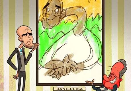 KARTUN: Guardiola Lirik Danilo