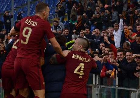 Roma beat Lazio to claim derby spoils