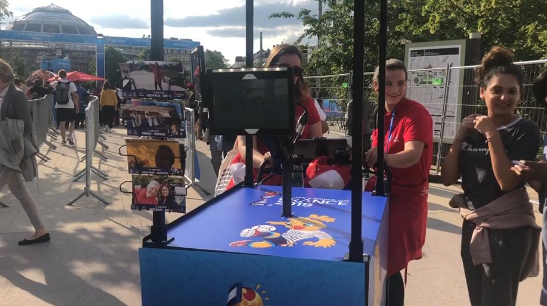 女足世界杯:探访巴黎的肚子变身足球乐园
