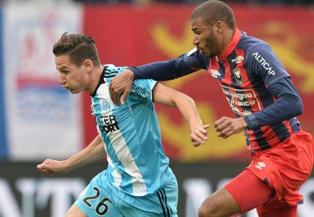 Caen-Marseille (1-5), Thauvin et l