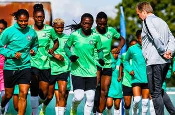 IN PICS: Nigeria begin training in France