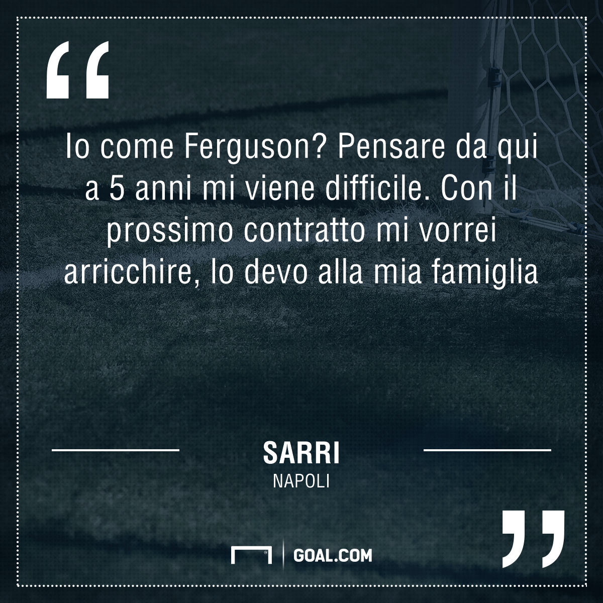 Napoli, Sarri:
