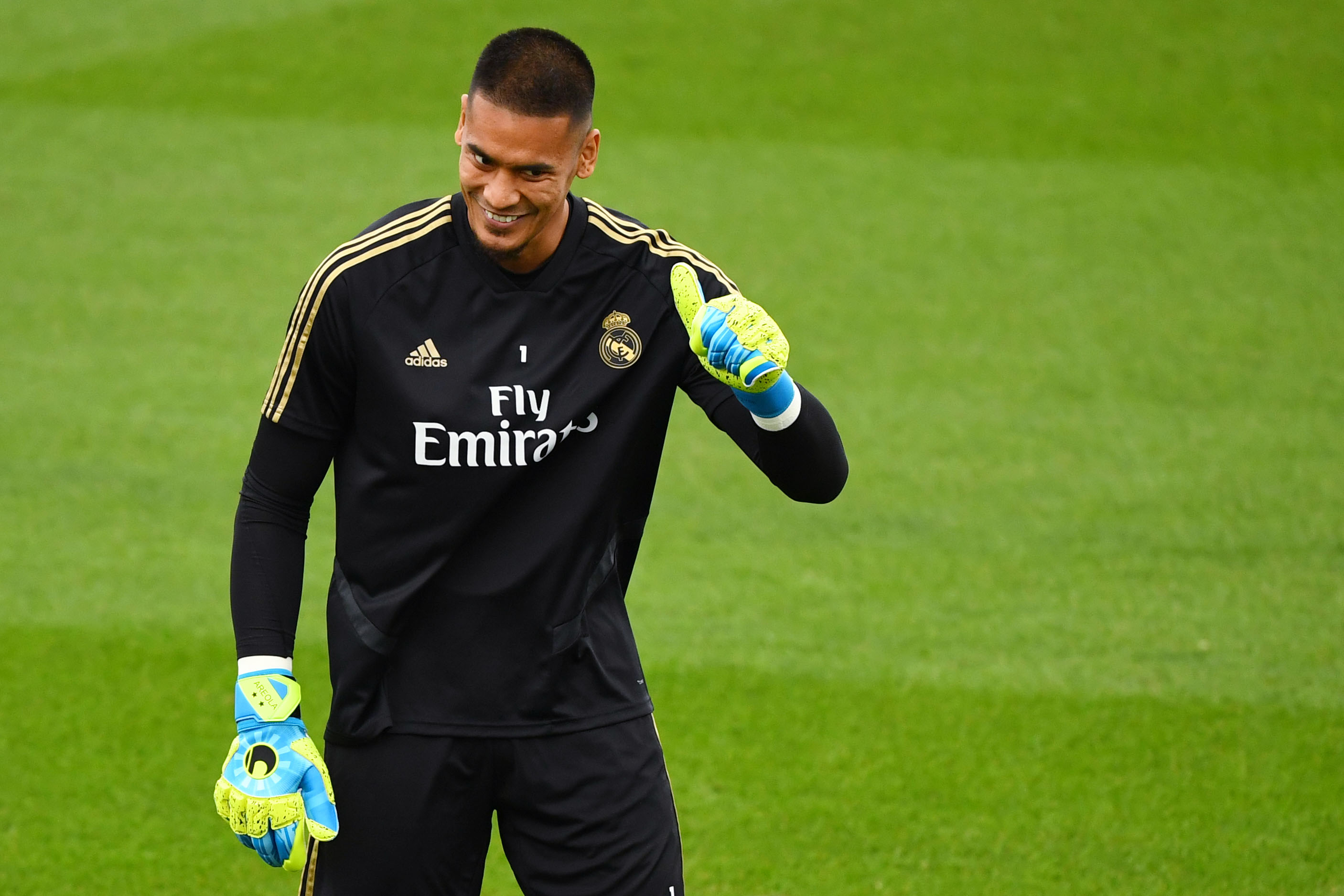 """Real Madrid, Alphonse Areola affiche ses ambitions : """"Donner le maximum"""""""