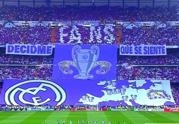 """Hinchas del Real Madrid reinventaron el """"Brasil decime qué se siente"""""""