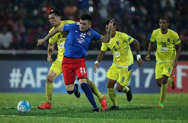 Gabriel Guerra, Johor Darul Ta'zim, Global FC, AFC Cup, 05/04/2017