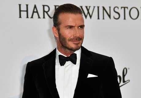 Beckham honoured with UEFA award
