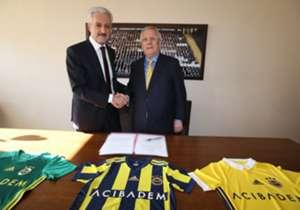 Fenerbahce sponsor Acibadem Aziz Yildirim Mehmet Ali Aydinlar
